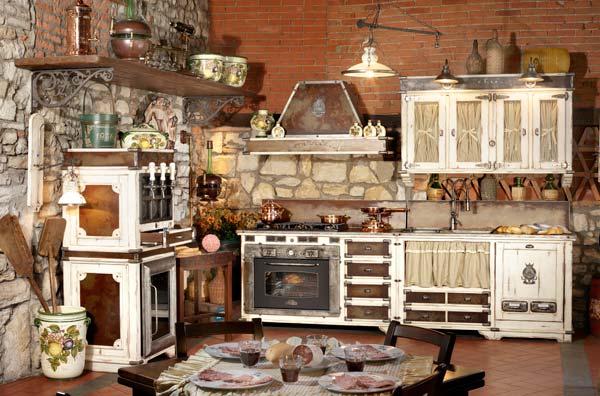 Arredamenti stile country mobili complementi d 39 arredo for Piccoli piani casa del sud del cottage